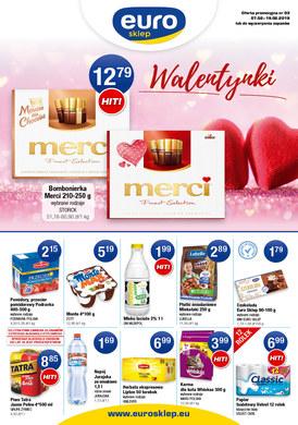 Gazetka promocyjna Euro Sklep - Walentynki