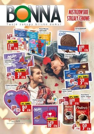 Gazetka promocyjna Bonna, ważna od 01.02.2019 do 28.02.2019.