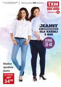 Gazetka promocyjna Textil Market - Jenasy w supercenach - ważna do 19-02-2019