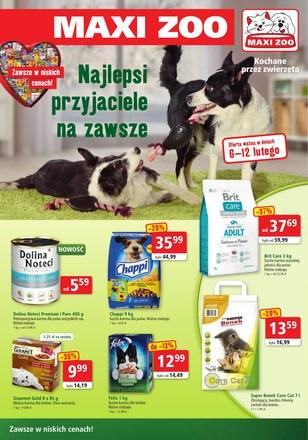 Gazetka promocyjna Maxi Zoo, ważna od 06.02.2019 do 12.02.2019.