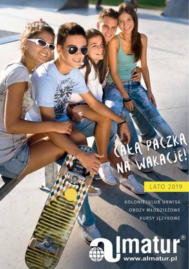 Gazetka promocyjna Almatur - Lato 2019