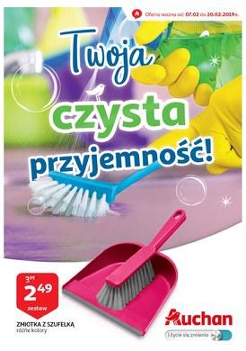 Gazetka promocyjna Auchan - Twoja czysta przyjemność