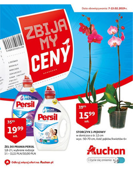 Gazetka promocyjna Auchan - Zbijamy ceny