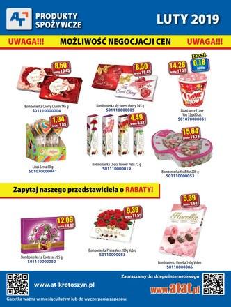 Gazetka promocyjna At, ważna od 01.02.2019 do 28.02.2019.