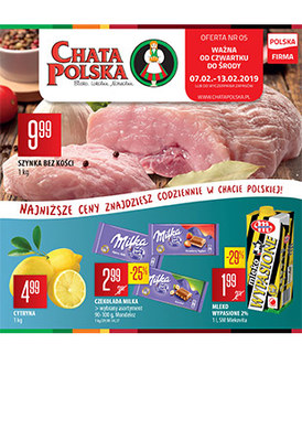 Gazetka promocyjna Chata Polska - Gazetka handlowa