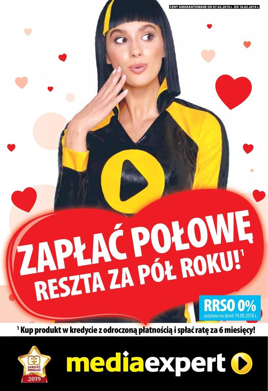 Gazetka promocyjna Media Expert - ważna od 07. 02. 2019 do 16. 02. 2019