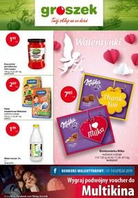 Gazetka promocyjna Groszek  - Oferta handlowa - ważna do 19-02-2019