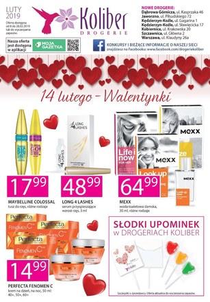 Gazetka promocyjna Drogerie Koliber, ważna od 08.02.2019 do 28.02.2019.