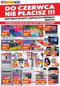 Gazetka promocyjna RTV EURO AGD - Do czerwca nie płacisz!!! - ważna do 28-02-2019