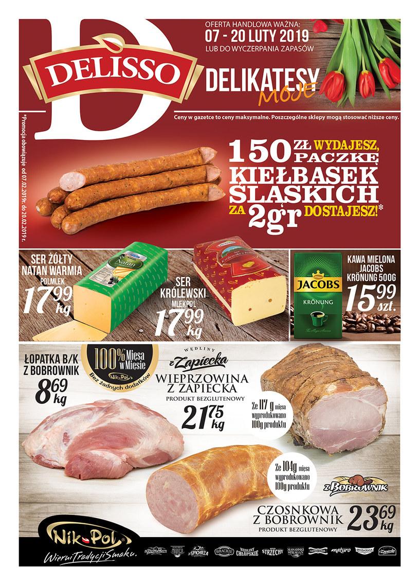 Gazetka promocyjna Delisso - ważna od 07. 02. 2019 do 20. 02. 2019