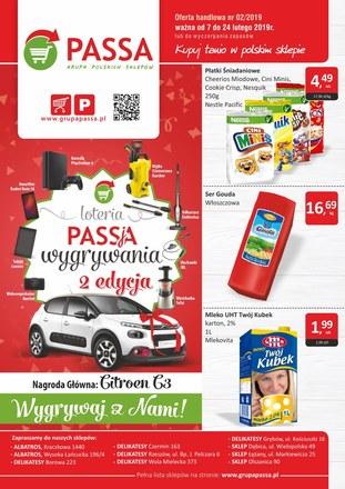 Gazetka promocyjna Passa, ważna od 07.02.2019 do 24.02.2019.