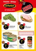 Gazetka promocyjna Arhelan - Bomba cenowa - ważna do 09-02-2019