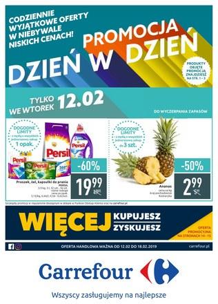 Gazetka promocyjna Carrefour, ważna od 12.02.2019 do 18.02.2019.