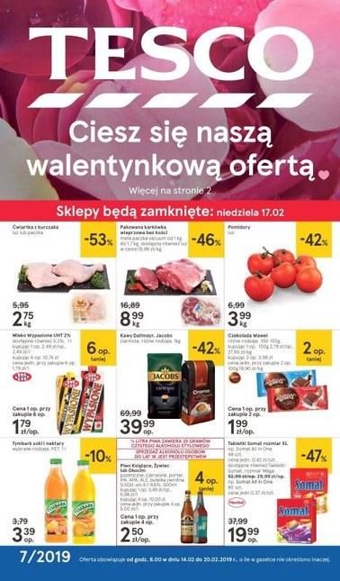 Gazetka promocyjna Tesco, ważna od 14.02.2019 do 20.02.2019.