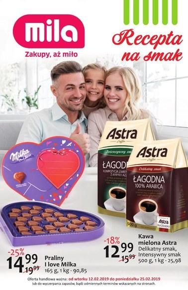 Gazetka promocyjna MILA, ważna od 12.02.2019 do 25.02.2019.