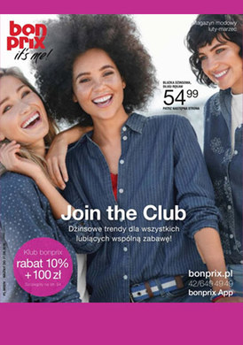 Gazetka promocyjna BonPrix - Join the club