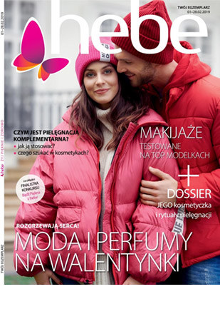 Gazetka promocyjna Hebe, ważna od 01.02.2019 do 28.02.2019.