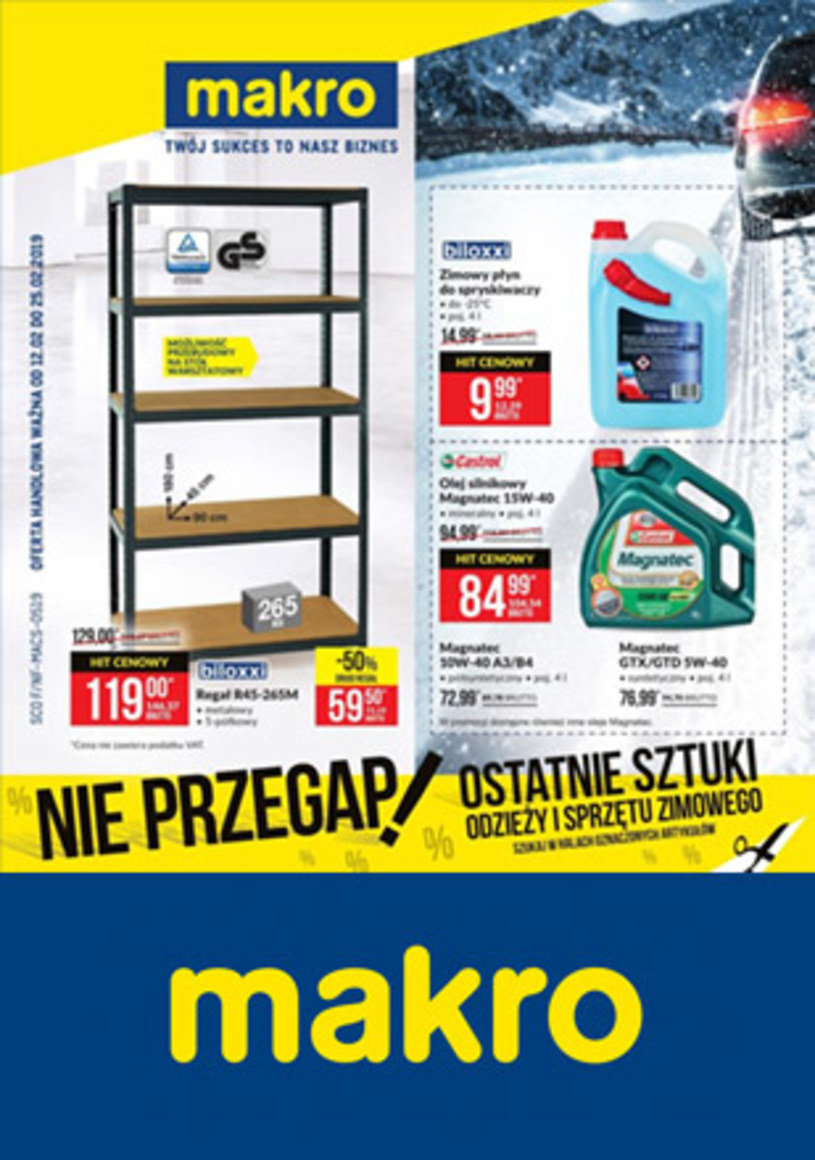 Gazetka promocyjna Makro Cash&Carry - ważna od 12. 02. 2019 do 25. 02. 2019
