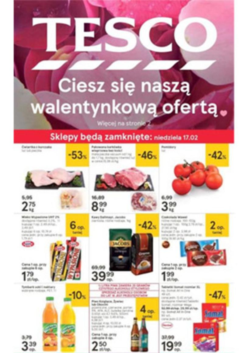 Gazetka promocyjna Tesco Hipermarket - ważna od 14. 02. 2019 do 20. 02. 2019