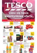 Gazetka promocyjna Tesco Hipermarket - Ciesz się nasza walentynkową ofertą  - ważna do 20-02-2019