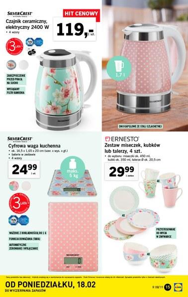 Gazetka promocyjna Lidl, ważna od 18.02.2019 do 24.02.2019.