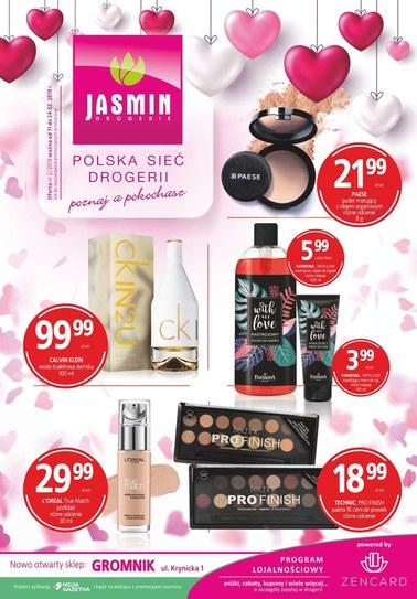 Gazetka promocyjna Jasmin Drogerie, ważna od 11.02.2019 do 24.02.2019.