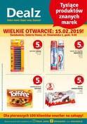 Gazetka promocyjna Dealz - Wielkie otwarcie - Świebodzin  - ważna do 20-02-2019