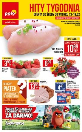 Gazetka promocyjna POLOmarket, ważna od 13.02.2019 do 19.02.2019.