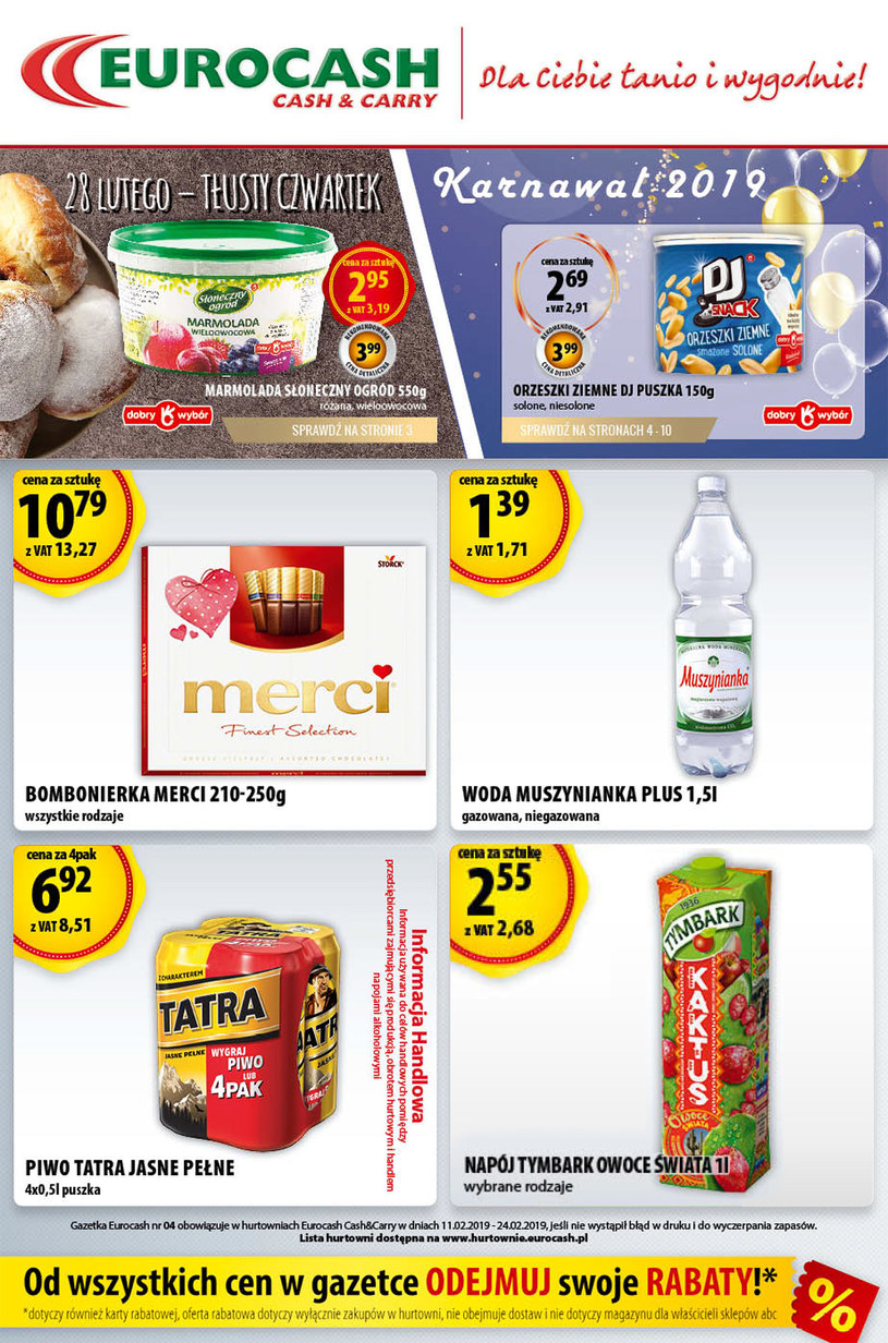 Eurocash Cash&Carry: 1 gazetka