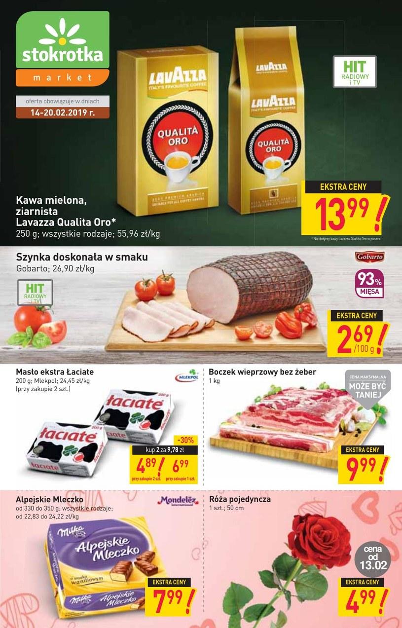 Gazetka promocyjna Stokrotka - ważna od 14. 02. 2019 do 20. 02. 2019