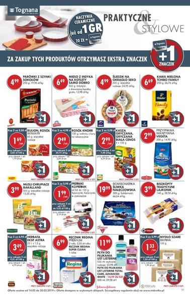 Gazetka promocyjna Stokrotka, ważna od 14.02.2019 do 20.02.2019.