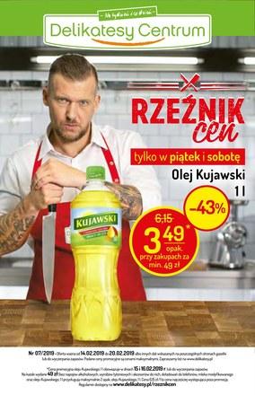 Gazetka promocyjna Delikatesy Centrum, ważna od 14.02.2019 do 20.02.2019.