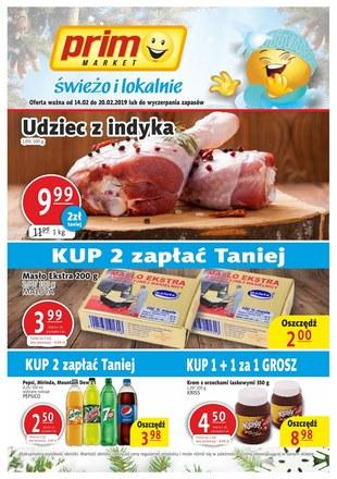Gazetka promocyjna Prim Market, ważna od 14.02.2019 do 20.02.2019.