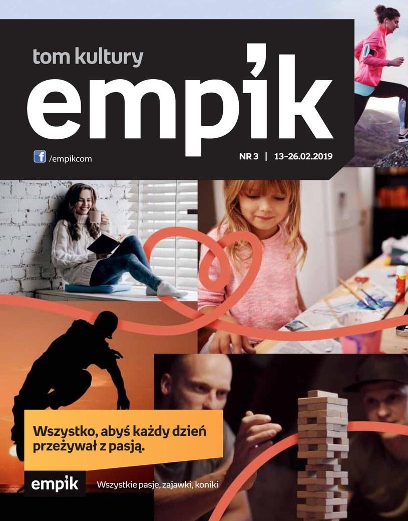 Gazetka promocyjna EMPiK - ważna od 13. 02. 2019 do 26. 02. 2019