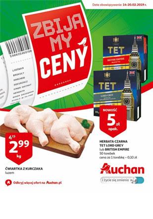 Gazetka promocyjna Auchan, ważna od 14.02.2019 do 20.02.2019.
