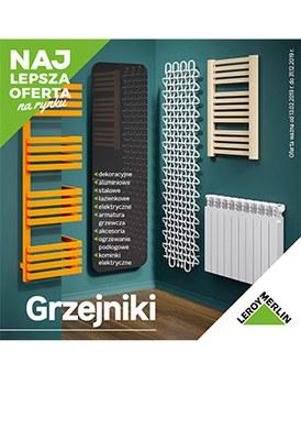 Gazetka promocyjna Leroy Merlin - Grzejniki 2019