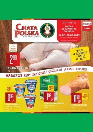 Gazetka promocyjna Chata Polska, ważna od 14.02.2019 do 20.02.2019.