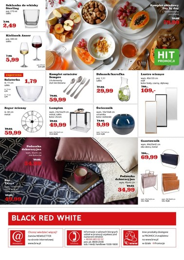 Gazetka promocyjna Black Red White, ważna od 14.02.2019 do 27.02.2019.