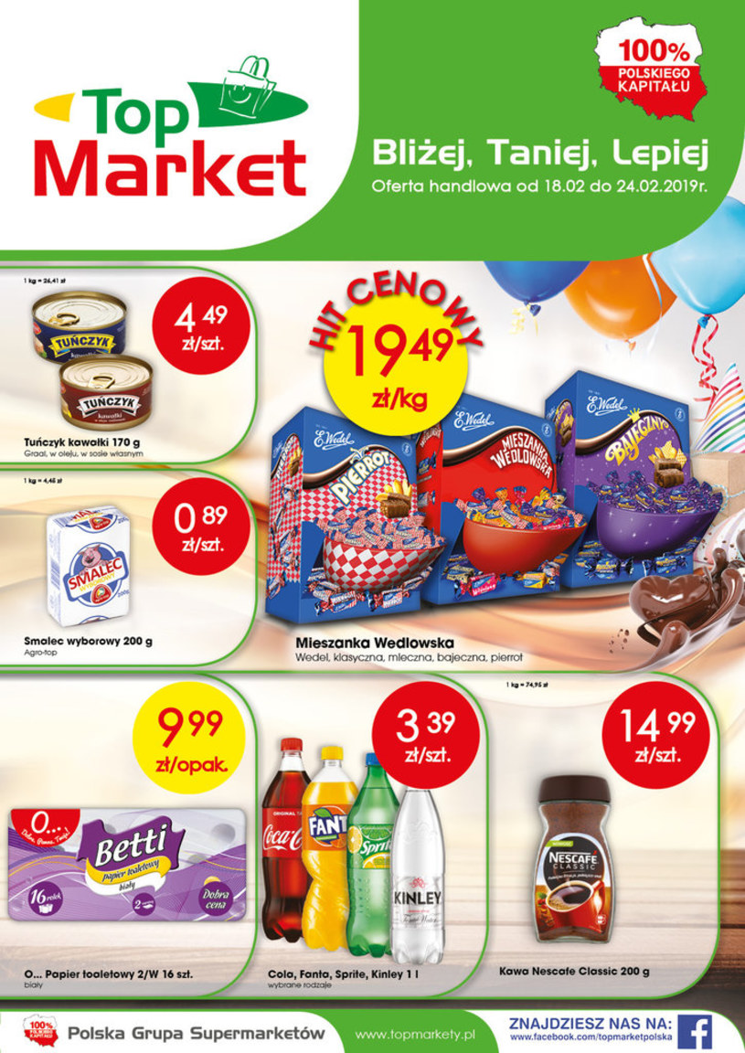 Top Market: 2 gazetki