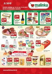 Gazetka promocyjna MALINKA Market - Oferta handlowa - ważna do 27-02-2019