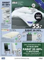 Gazetka promocyjna Jysk - Inspirujące mieszkanie rabat do 50%