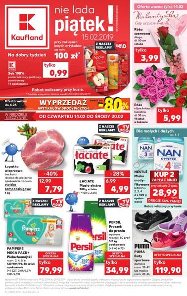 Gazetka promocyjna Kaufland, ważna od 14.02.2019 do 20.02.2019.