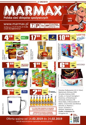 Gazetka promocyjna Marmax, ważna od 14.02.2019 do 24.02.2019.