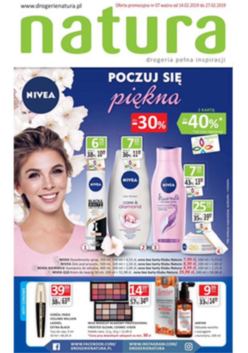 Gazetka promocyjna Drogerie Natura - ważna od 14. 02. 2019 do 27. 02. 2019