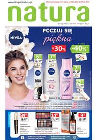 Gazetka promocyjna Drogerie Natura - Poczuj się piękna  - ważna do 27-02-2019