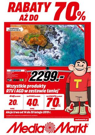 Gazetka promocyjna Media Markt, ważna od 14.02.2019 do 20.02.2019.