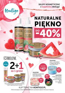 Gazetka promocyjna Kontigo - Naturalne piękno do - 40%