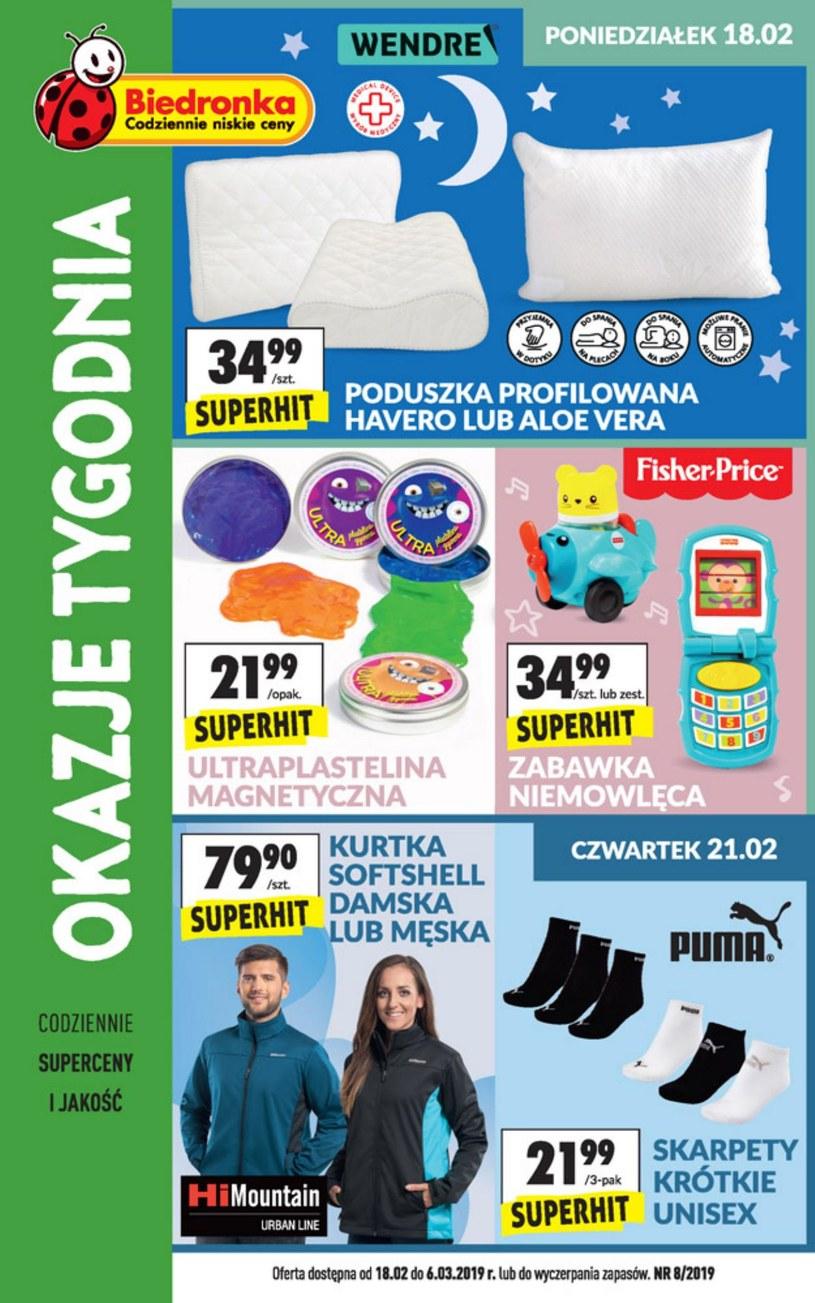 Gazetka promocyjna Biedronka - ważna od 18. 02. 2019 do 06. 03. 2019