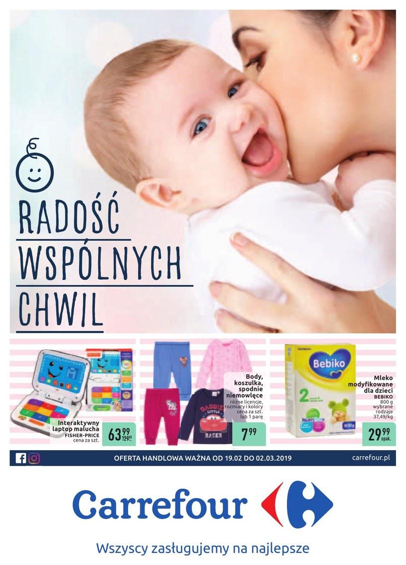 Gazetka promocyjna Carrefour - ważna od 19. 02. 2019 do 02. 03. 2019