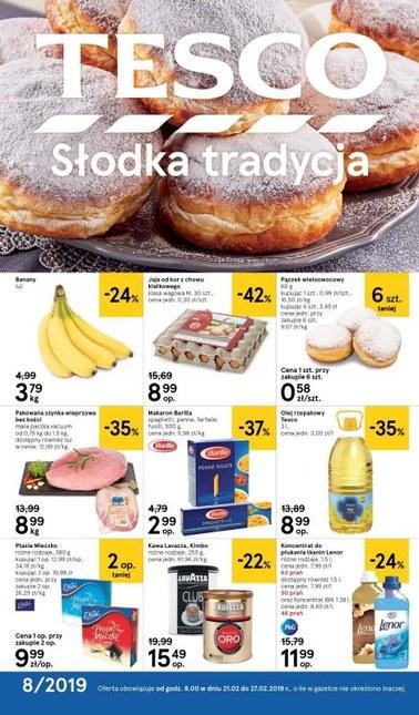 Gazetka promocyjna Tesco, ważna od 21.02.2019 do 27.02.2019.